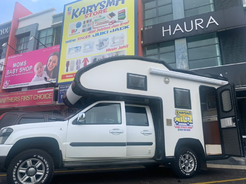 Harga motorhome dan campervan di malaysia